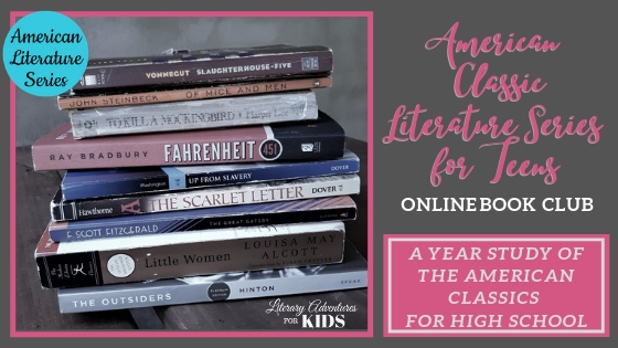 American Literature High School Series Online Book Clubs for Teens