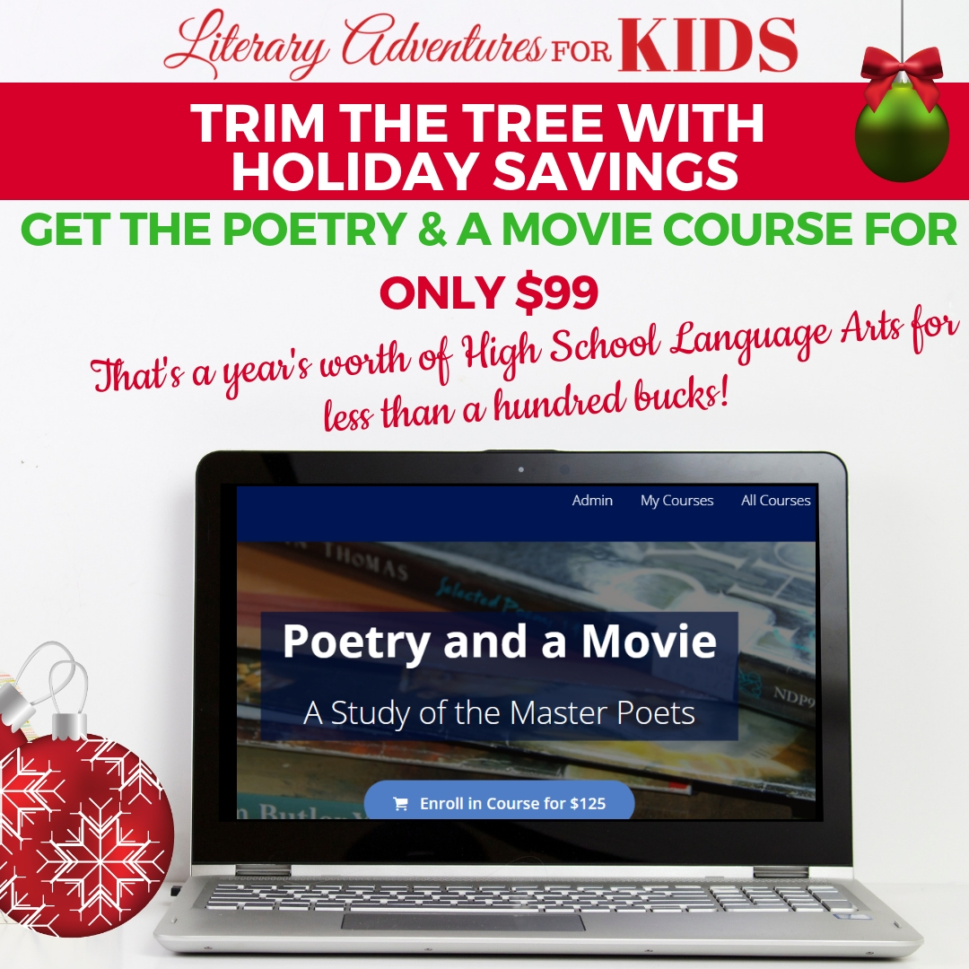 Holiday Sale Poetry and a Movie