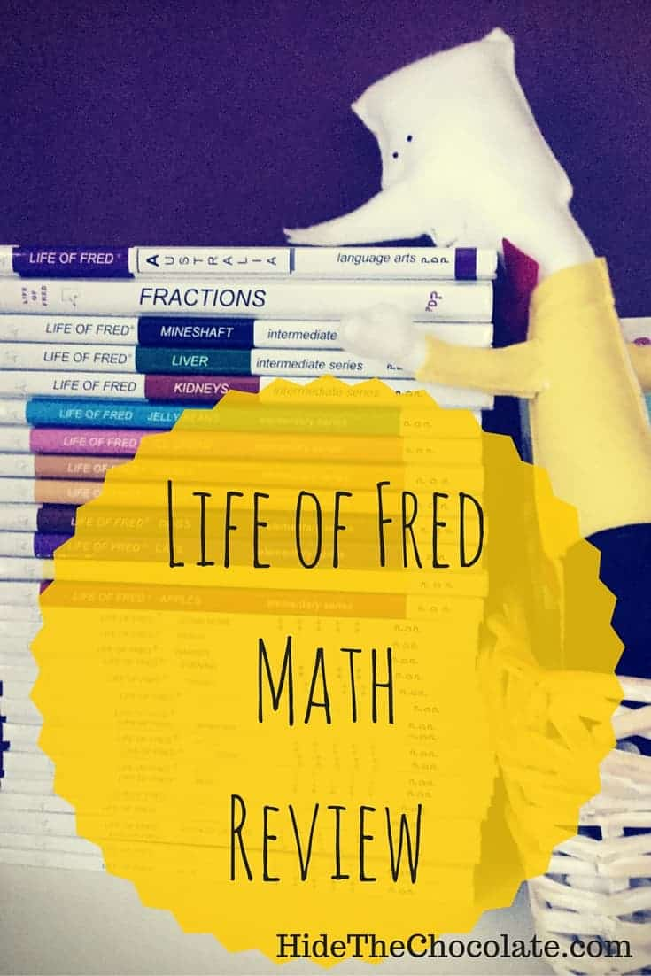 We are big fans of Life of Fred around here. Here are some of the reasons for our love of the adorable height-challenged mathematician. Life of Fred Review