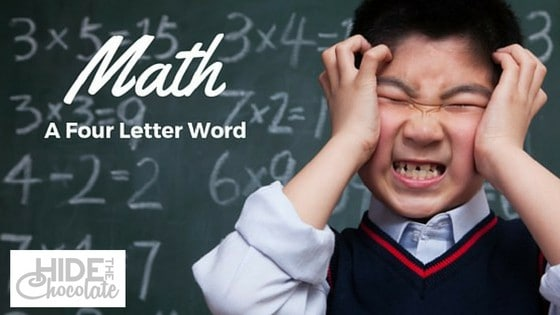 Math: A Four Letter Word