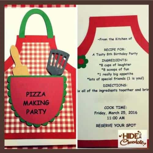 Pizza Party - Invites