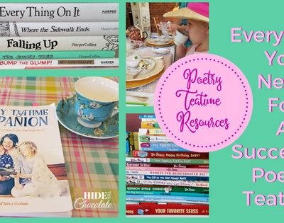 Poetry Teatime Resources ~ Everything You Need For a Successful Poetry Teatime