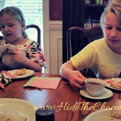 Poetry Teatime ~ Part of an Enchanted Education