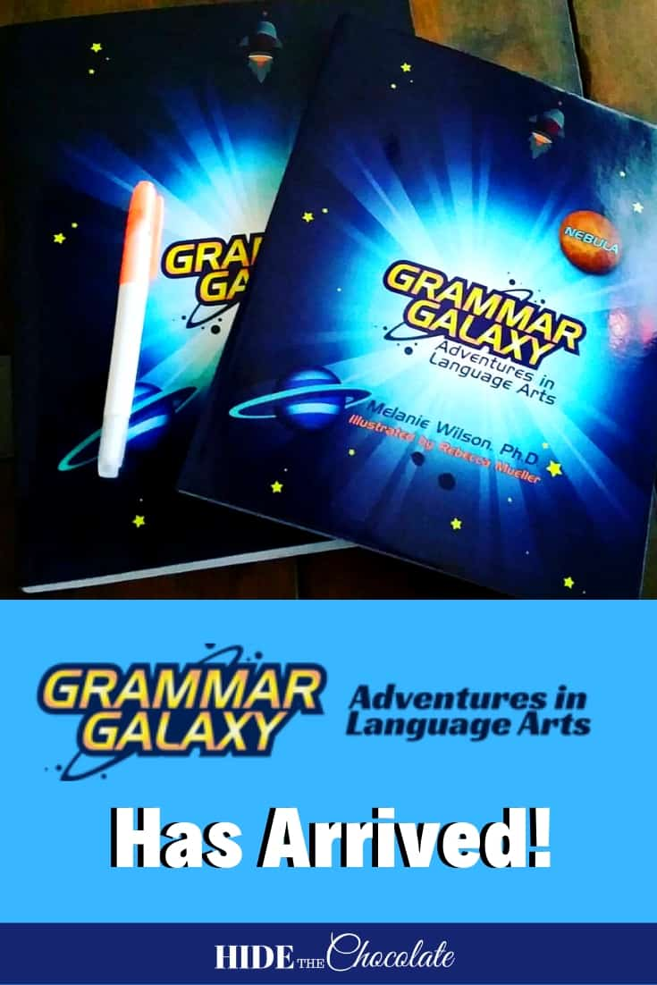 Grammar Galaxy Nebula has arrived! PIN