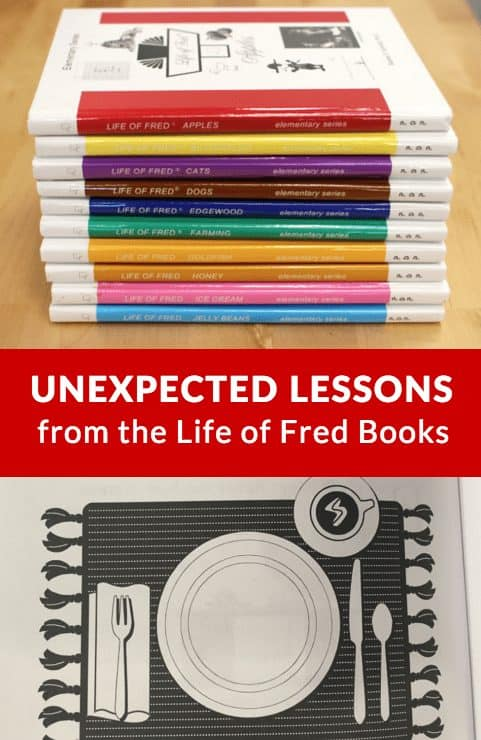 Unexpected Lessons From The Life Of Fred Math Books