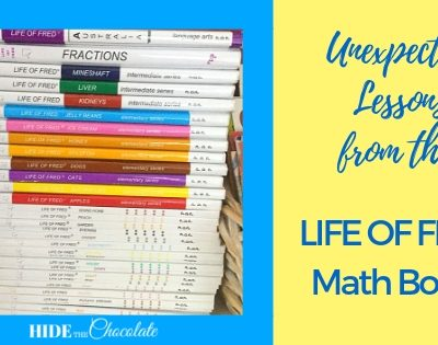 Unexpected Lessons from the Life of Fred Math Books Featured