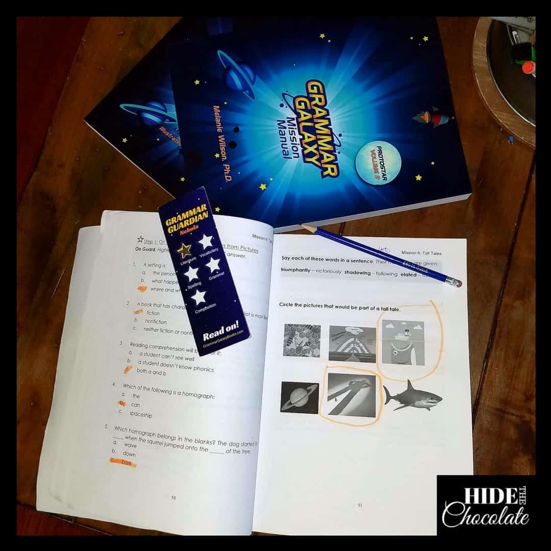 Grammar Galaxy Protostar Open Manual