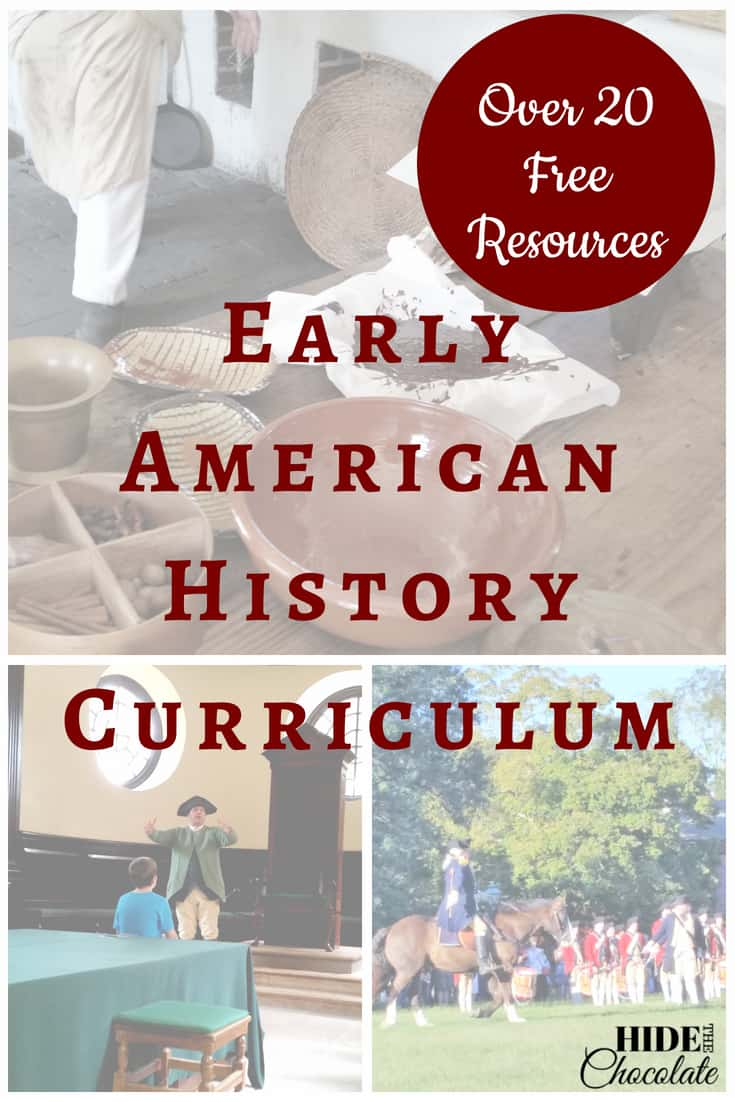 This year I was determined to teach American History. But, I couldn't find one I liked. So I created my own early American History curriculum.