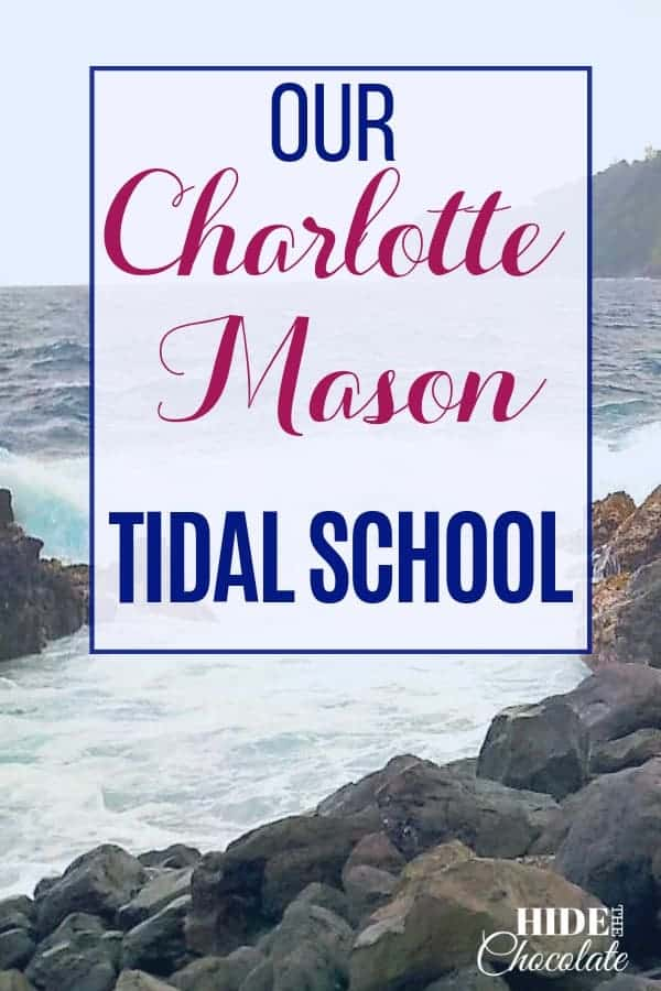 When we started #homeschooling, Charlotte Mason was appealing to me. But, Ms. Mason\'s philosophy had some components I just couldn\'t put into practice. Then I discovered Melissa Wiley\'s Tidal School.  We meshed them together and created a Charlotte Mason Tidal School with a heavy influence of Brave Writer Lifestyle.