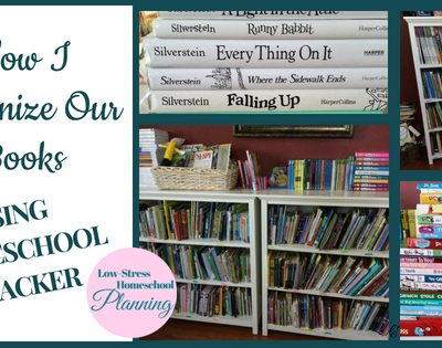 How To Organize Your Books Using Homeschool Tracker