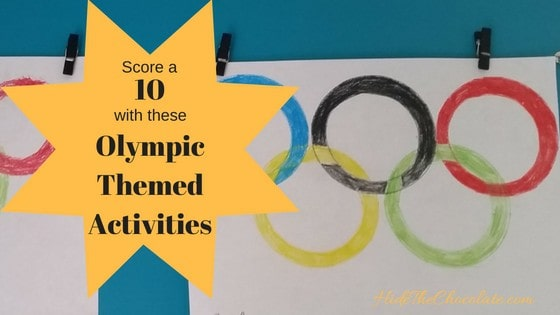 score a perfect 10 with these olympic themed activities