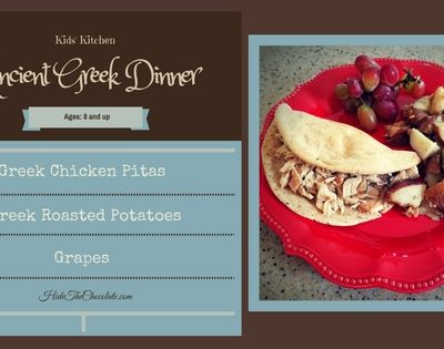 Kids' Kitchen: Ancient Greek Dinner