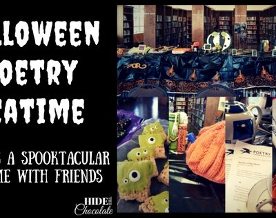 How to Host a Poetry Teatime: Halloween Poetry Teatime