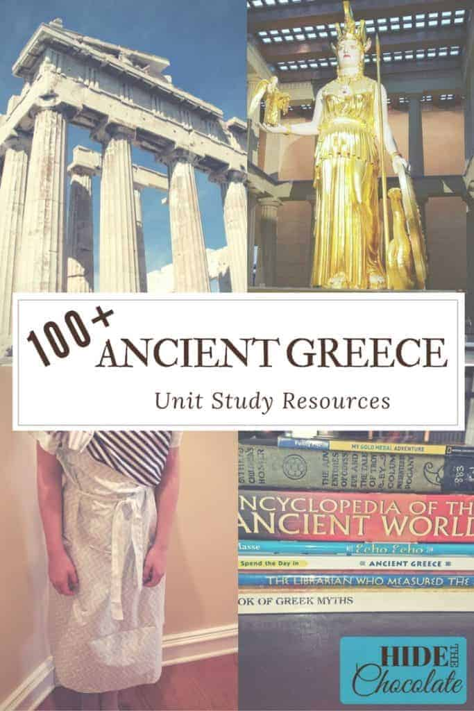 100 Ancient Greece Unit Study Resources