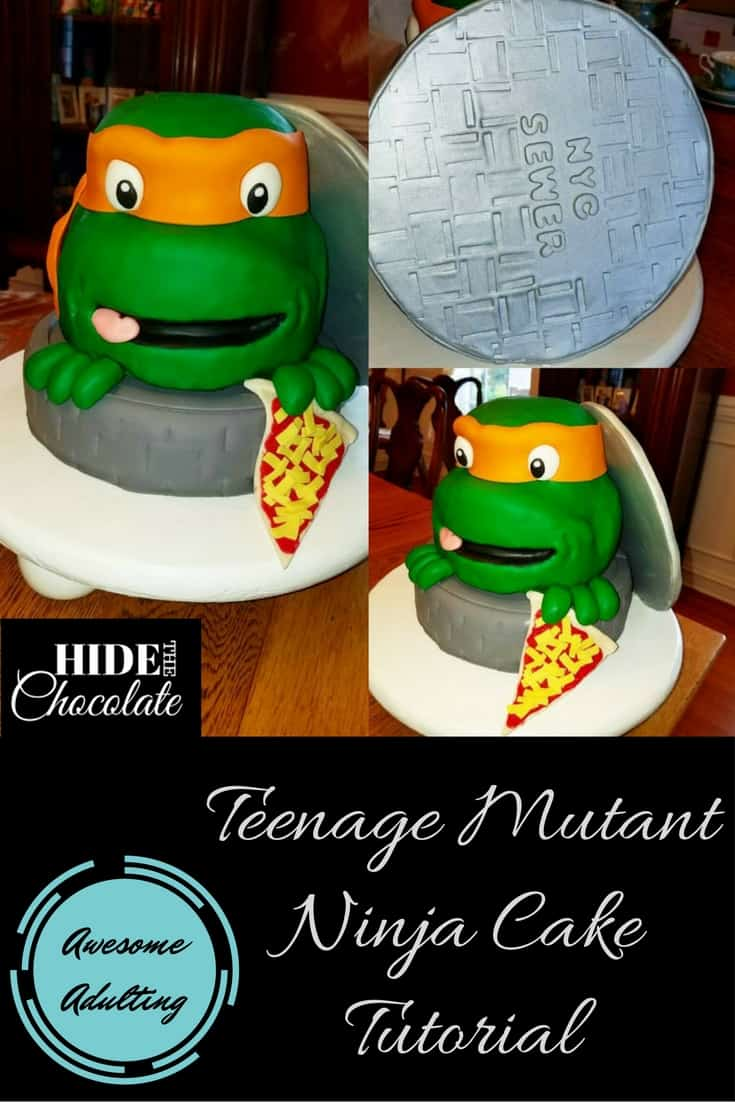 Teenage Mutant Ninja Turtle Cake Tutorial