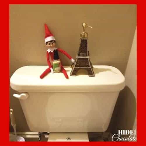 Elf on a Toilet
