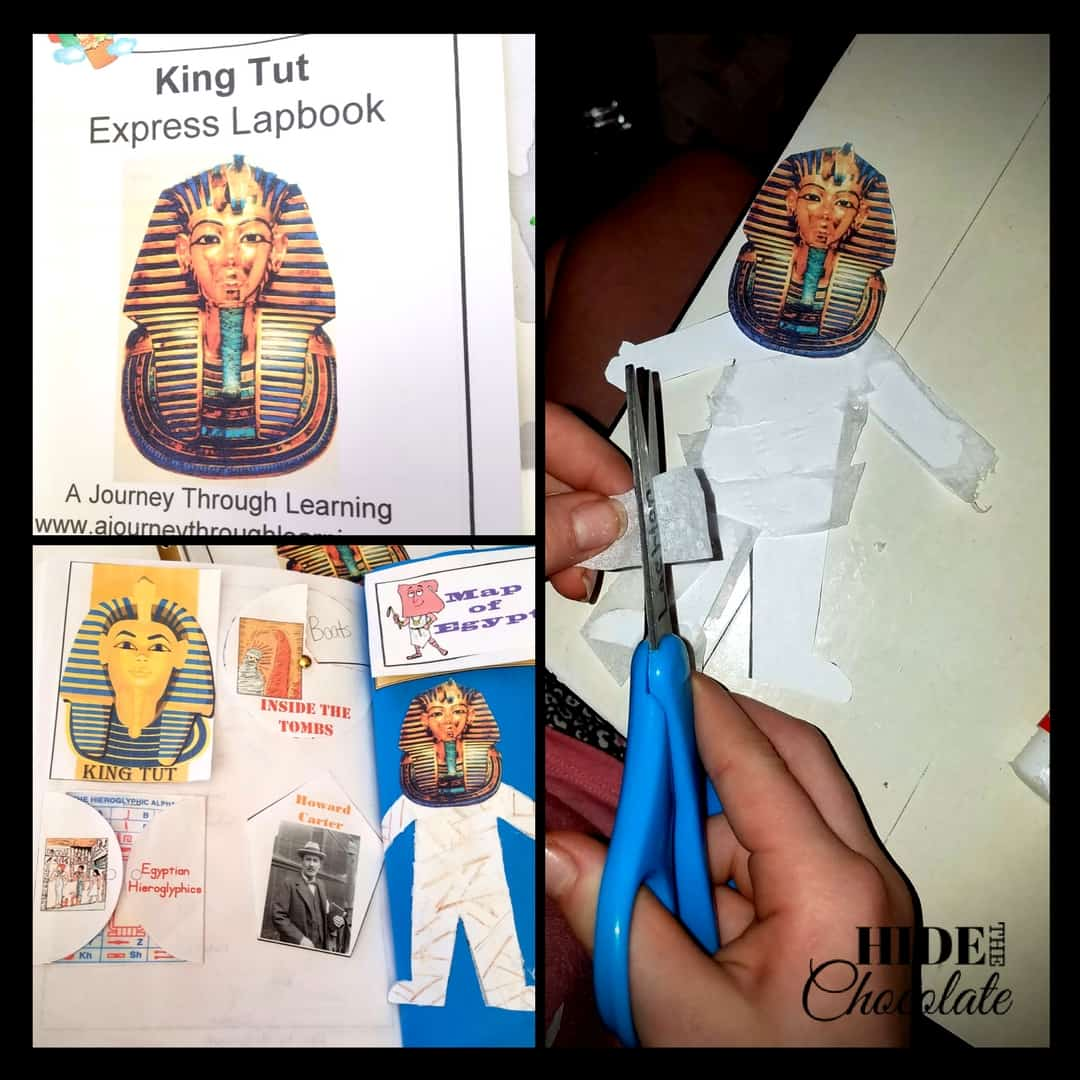 Ancient Egypt History King Tut Lapbook