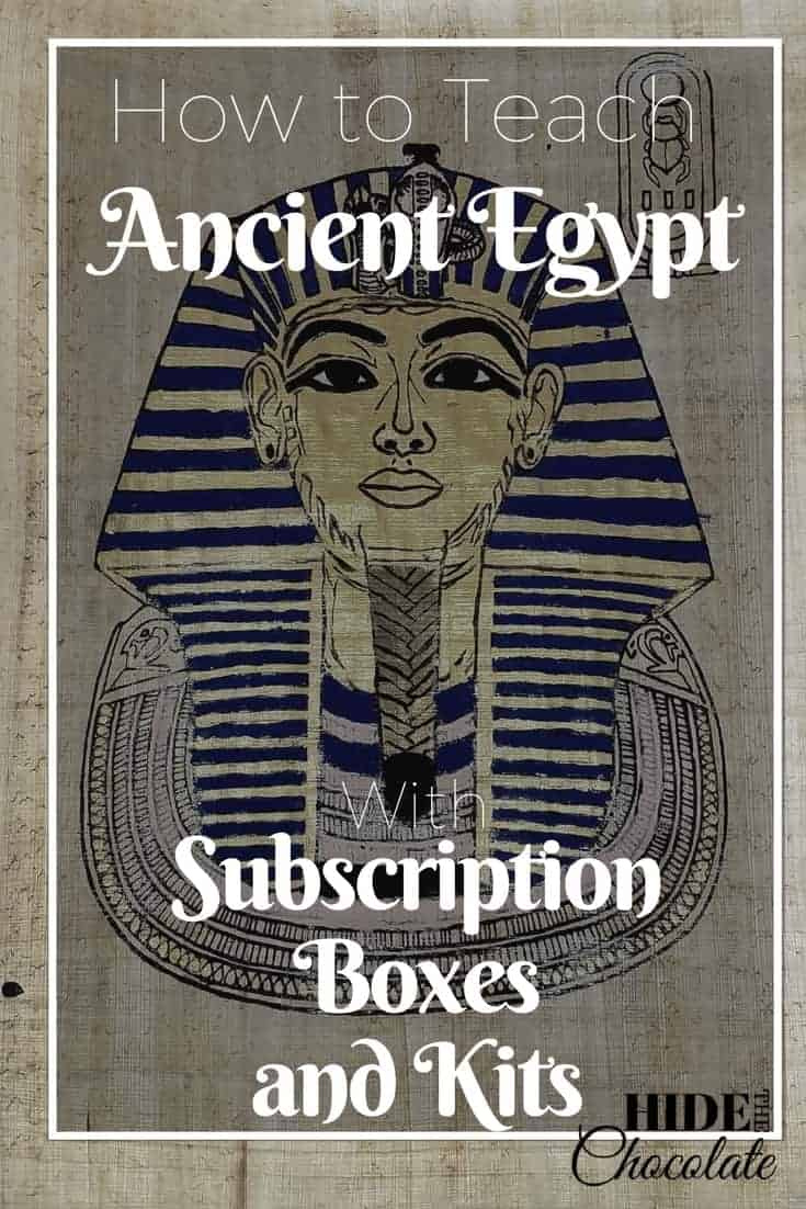 Ancient Egypt Subscription Boxes and Kits PIN