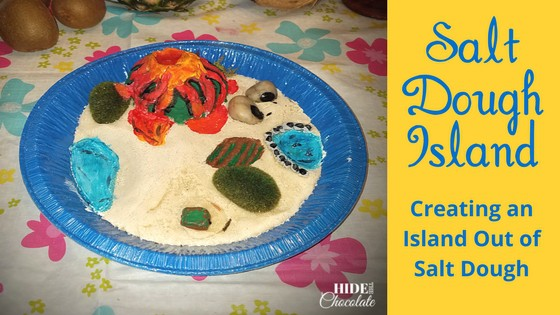 Salt Dough Island Recipe