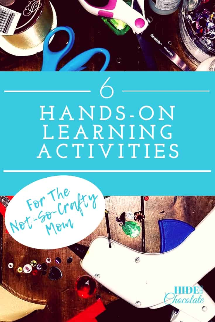 Hands On Learning Activities for the Not-So-Crafty Mom PIN2