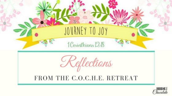 Journey to Joy: Reflections from the COCHE Retreat