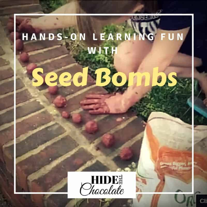 Hands-On Learning Fun with Seed Bombs