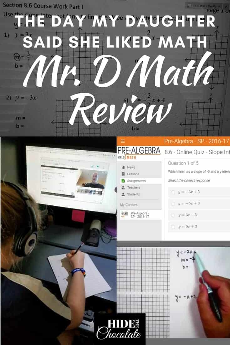 The Day My Daughter Said She Liked Math: A Mr. D Math Review