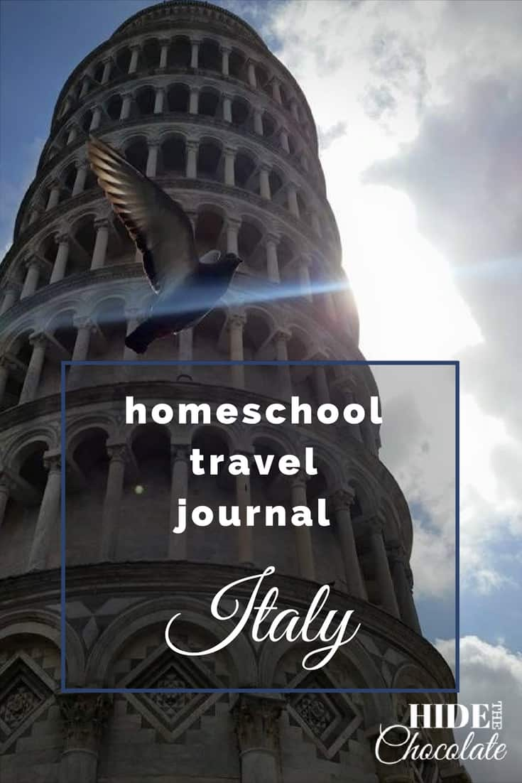 I'll admit it. One of the primary reasons I wanted to #homeschool that first year was so I could travel in Italy with my kids and not have to beg the principal to excuse their absences. It probably wasn't the most logical reason, but it was the birth of our #Fieldschooling Adventures.