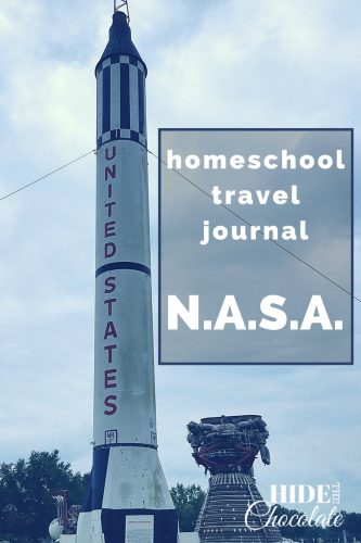 Homeschool Travel Journal- NASA