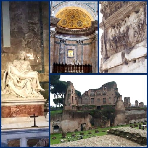 Homeschool Travel Journal: Italy Rome Sites
