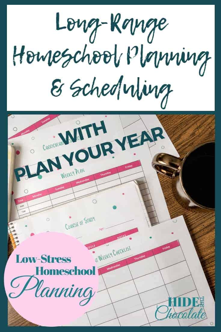 Long-Term Homeschool Planning and Scheduling with Plan Your Year PIN