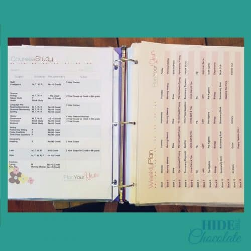 Long-Range Homeschool Planner - Student