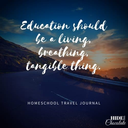 Homeschool Travel Journal