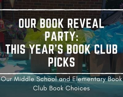 Our Book Reveal Party: This Year's Book Club Picks