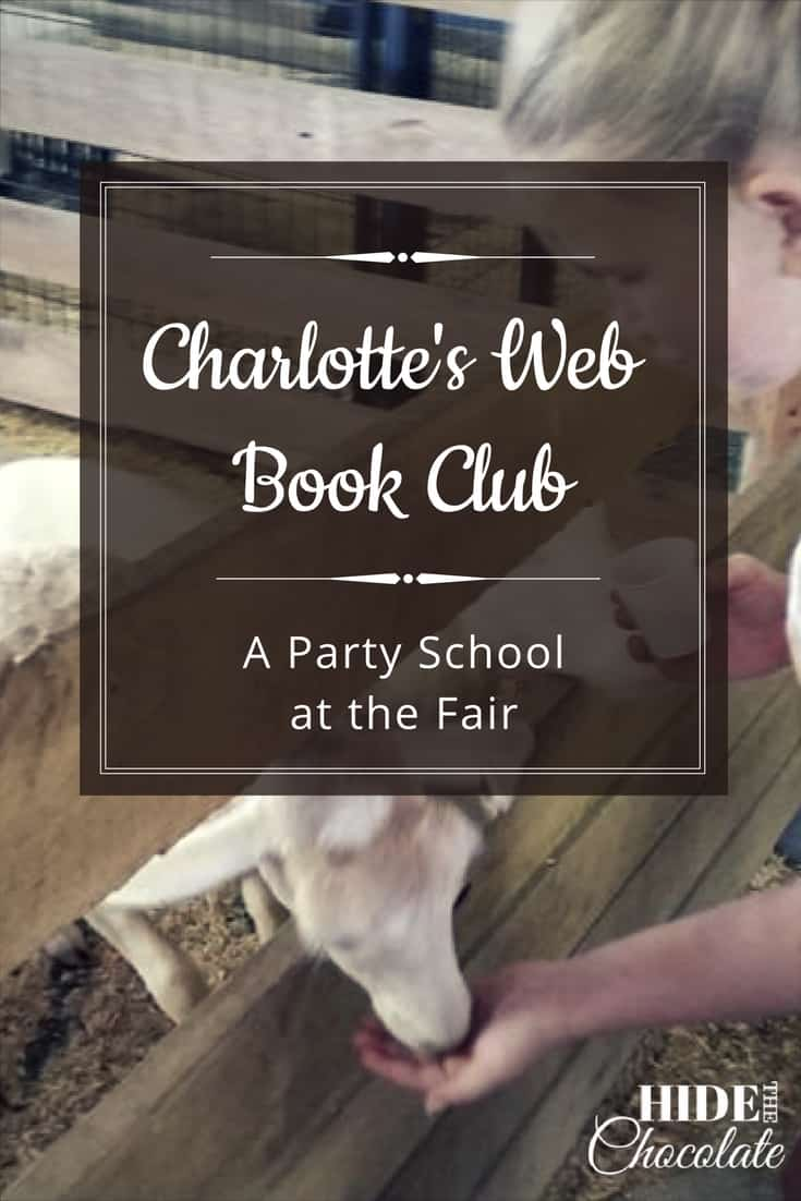 Felt pigs, mud pies, model barns and farm animals made our Charlotte's Web book club a fall literary adventure ~ especially when the fair came to town. #homeschool #bookclub