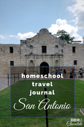 Homeschool Travel Journal- San Antonio