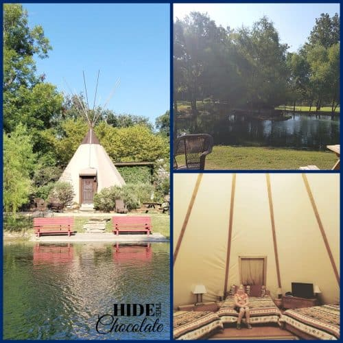 Fieldschool in San Antonio - Tipi