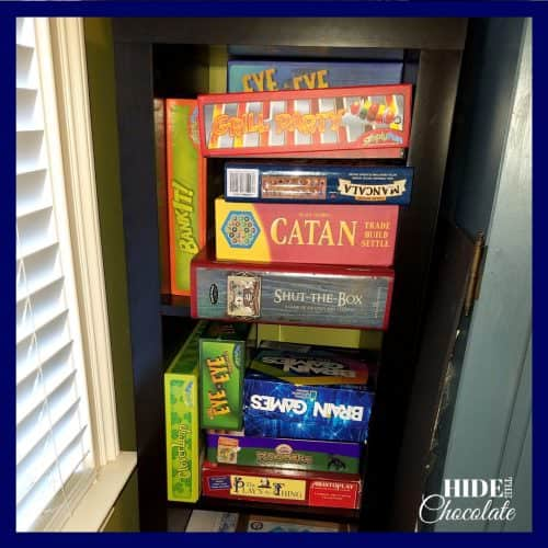 Homeschool Room- Games