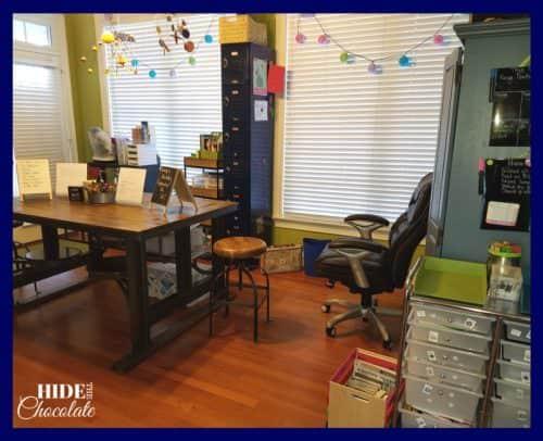 Homeschool Room- School Room