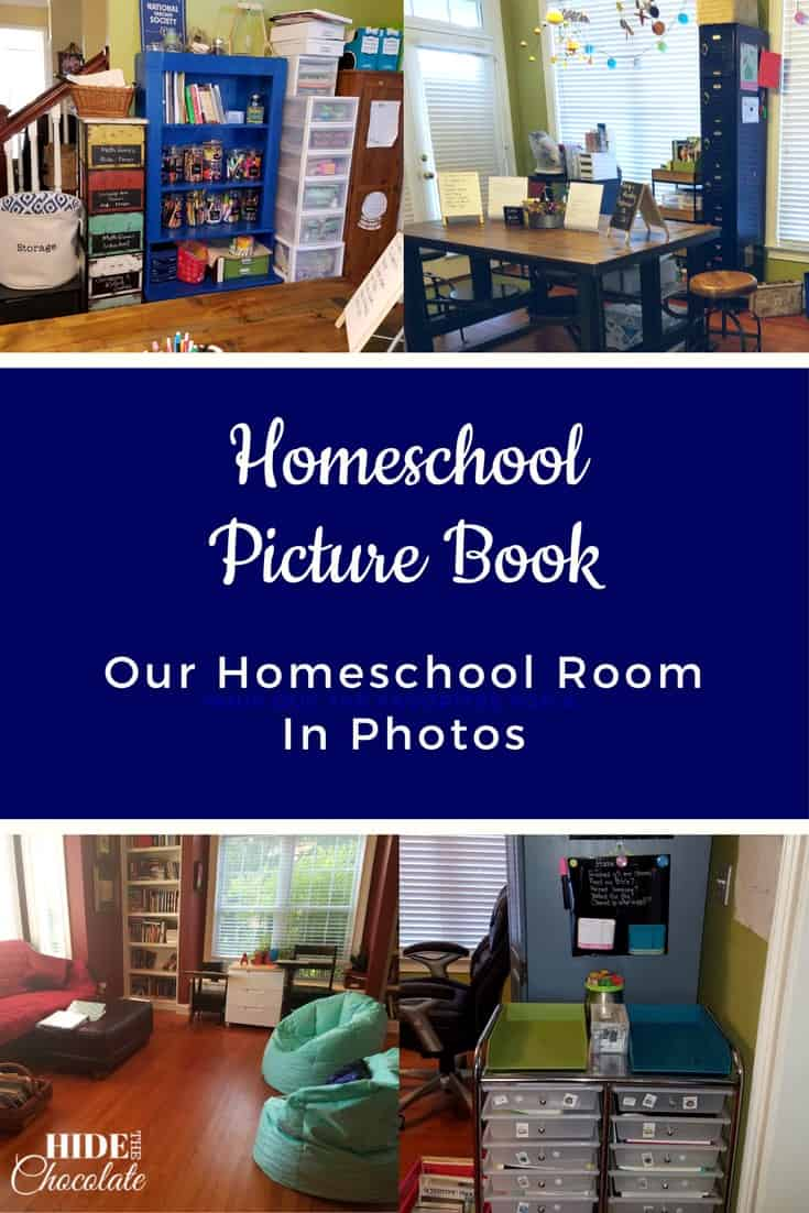 Homeschool Picture Book: Our Homeschool Room In Photos