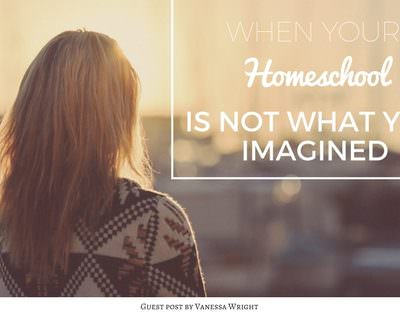 When Your Homeschool Is Not What You Imagined