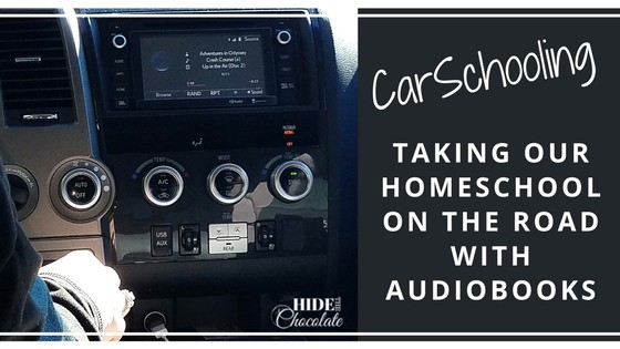 CarSchooling: Taking Our Homeschool On the Road with Audiobooks