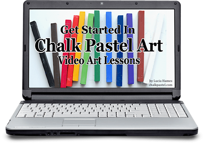Our favorite Chalk Pastel Art Tutorial shares how to get started.