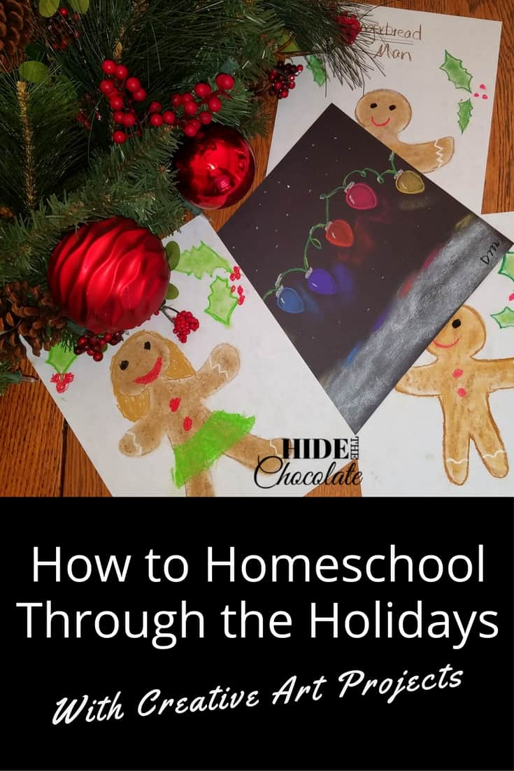 How to Homeschool Through the Holidays With Creative Art Projects