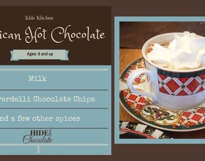 Kids' Kitchen: An Easy and Tasty Mexican Hot Chocolate Recipe