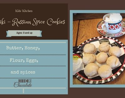 Kids' Kitchen: Pryaniki, Russian Spice Cookies for Poetry Teatime