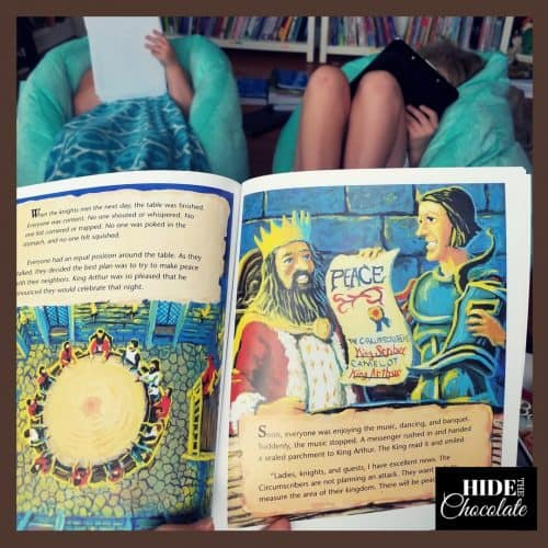 Middle Ages Morning Basket Sir Cumference Read Aloud