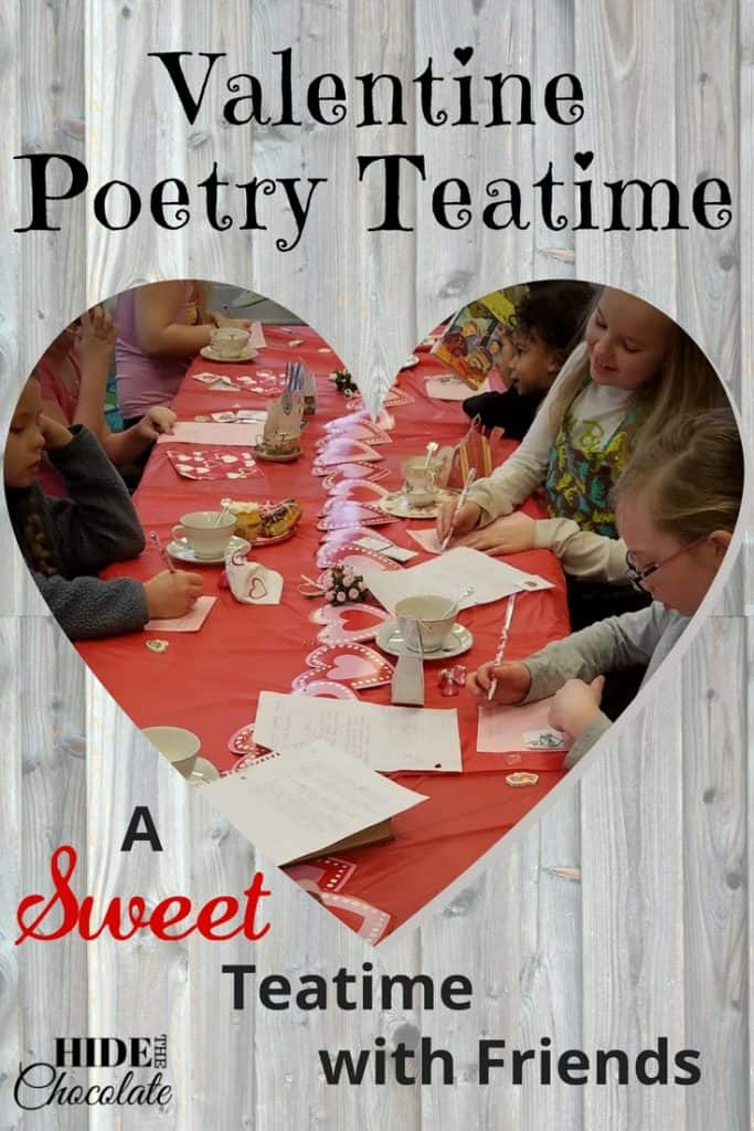 Valentine Poetry Teatime PIN