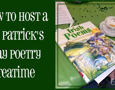 How To Host A St. Patrick's Day Poetry Teatime