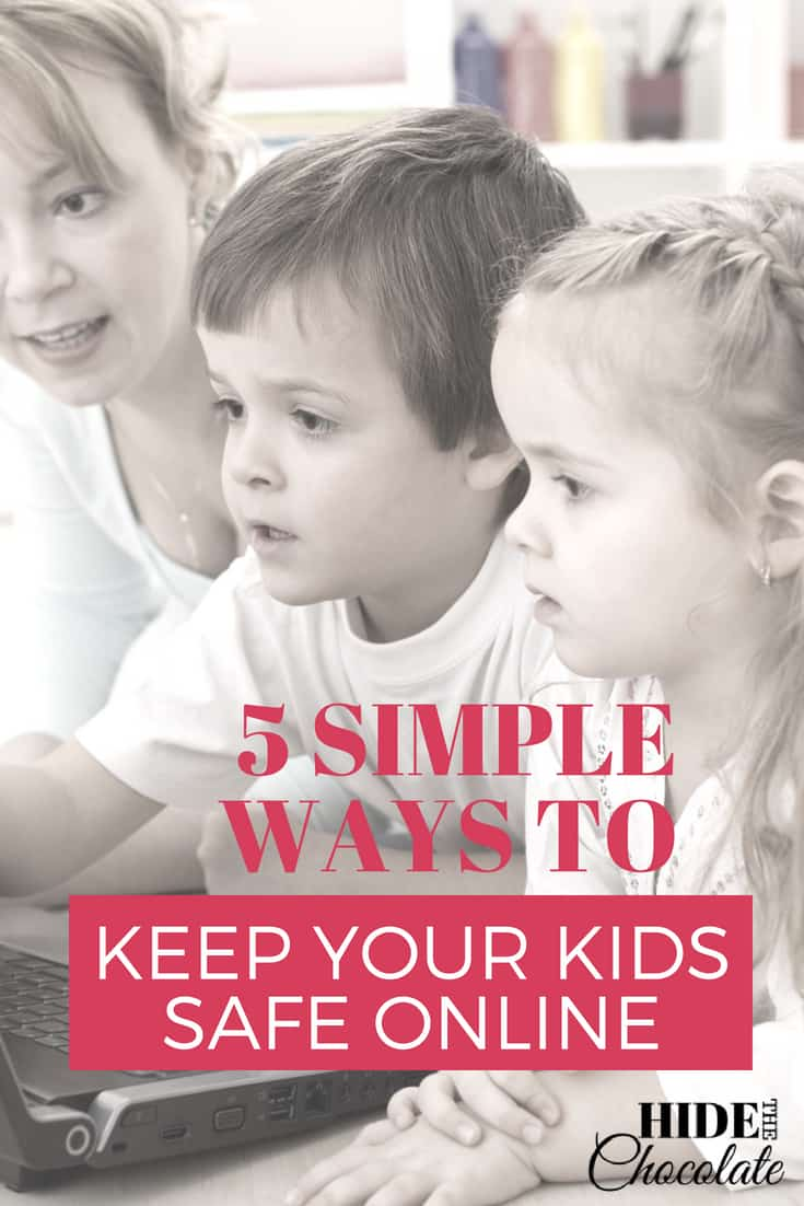 5 Simple Ways to Keep Your Kids Safe Online